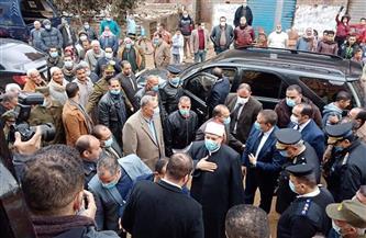 وزير الأوقاف يفتتح مسجد عصمت السادات بقرية ميت أبو الكوم في المنوفية| صور