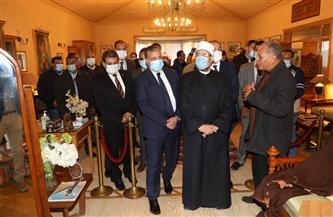 وزير الأوقاف ومحافظ المنوفية يتفقدان متحف مقتنيات الرئيس الراحل محمد أنور السادات| صور