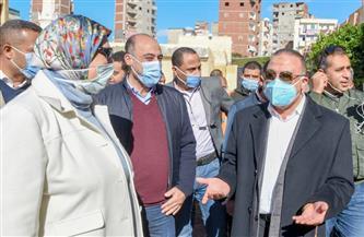 محافظ الإسكندرية:الرئيس أمر بتوفير وحدات سكنية ببشائر الخير لأسر عقار كوم الشقافة المائل  صور