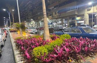 """تجميل محيط أسواق """"السمك والبازار"""" وشارع الصباح بحى العرب ببورسعيد   صور"""