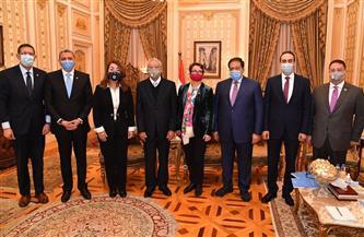 جبالي: تولي غادة والي منصب وكيل السكرتير العام للأمم المتحدة يعكس مكانة المرأة المصرية| صور
