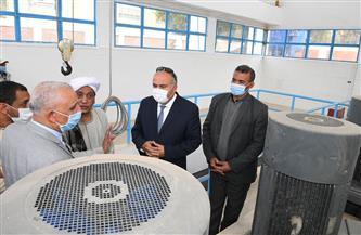 تشغيل مشروع الصرف الصحي لمدينة قفط وقراها في قنا.. غدا  صور