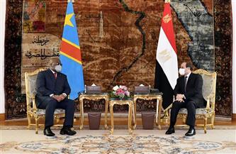 تفاصيل مباحثات الرئيس السيسي ونظيره الكونغولي اليوم بقصر الاتحادية