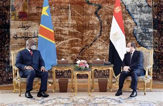 الرئيس السيسي ونظيره الكونغولي يبحثان قضية سد النهضة