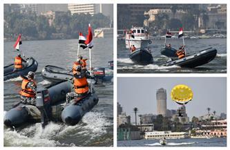 احتفال شرطة المسطحات المائية بعيد الشرطة | صور