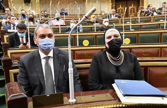 نيفين جامع: مجلس النواب داعم ومحرك رئيسي للسياسات الحكومية وخدمة مصالح المواطن المصرى