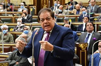 «أبو العينين» يطالب بالاهتمام بصناعة الخدمات والمنسوجات وخلق براند مصري