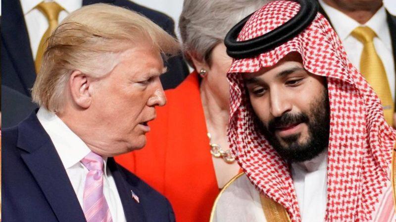 ولى عهد السعودية مع ترامب
