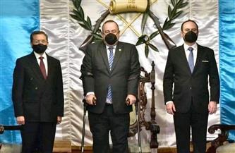 سفير مصر لدى جواتيمالا يقدم أوراق اعتماده إلى رئيس الجمهورية