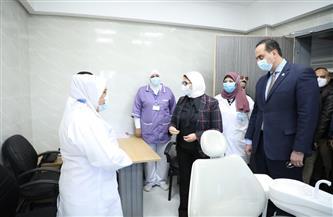 هالة زايد: ربط جميع الوحدات ومراكز طب الأسرة بالمبادرات الرئاسية في مجال الصحة العامة