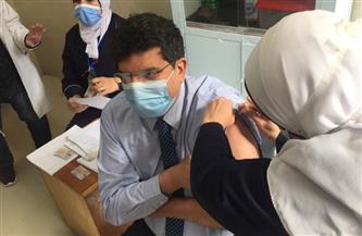 بدء تلقي جرعات لقاح فيروس كورونا للأطقم الطبية بمستشفيات الدقهلية |صور