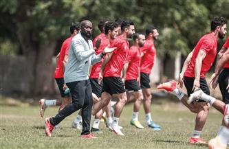 تدريبات بدنية للاعبي الأهلي في المران الأول بتنزانيا