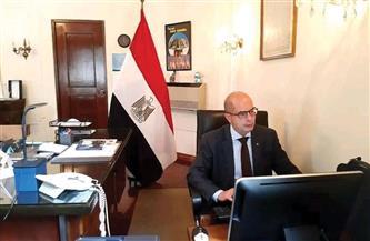 سفير مصر ببيرو يعقد لقاءات لتشجيع حركة تصدير المنتجات المصرية لأمريكا اللاتينية | صور
