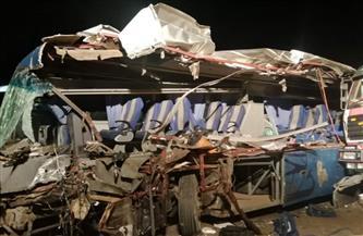موظفو «إسعاف السويس» يكتشفون جثمان زميل لهم ضمن ضحايا حادث محور 30 يونيو