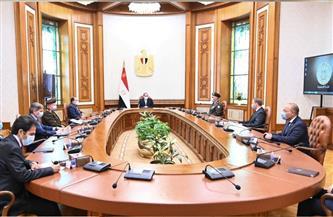 الرئيس السيسي يستعرض تجهيزات رفع المياه من مصرف بحر البقر لزراعة واستصلاح أراضي شمال ووسط سيناء