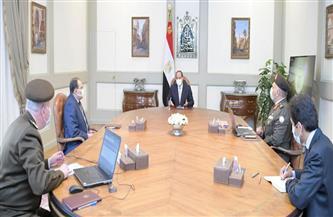 الرئيس السيسي يوجه بالتنسيق بين جهات الدولة للإسراع بالخطوات التنفيذية للمشروع القومي لتنمية وسط وشمال سيناء