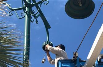 محافظ دمياط تتابع معدلات تنفيذ أعمال الصيانة بمنطقة اللسان برأس البر | صور