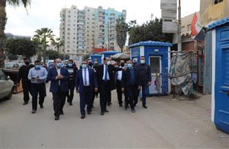 محافظ المنوفية يصطحب أعضاء مجلس النواب فى جولة ميدانية بشبين الكوم |صور