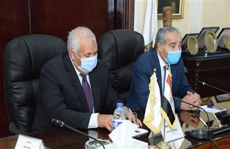 وزير التموين: إنشاء منطقة لوجستية واستصلاح 10 آلاف فدان كمرحلة أولى بمحافظة  الوادي الجديد  صور