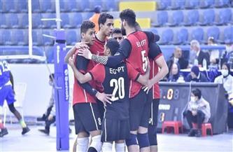 منتخب مصر يواجه نظيره المغربي بختام بطولة إفريقيا للكرة الطائرة للشباب