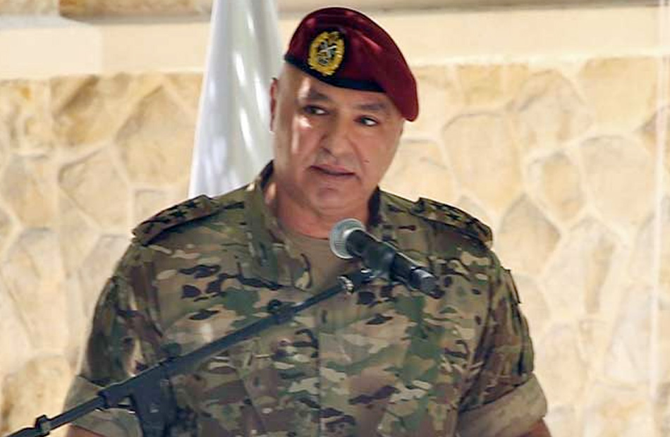 قائد الجيش اللبناني يبحث الأوضاع بلبنان والمنطقة مع قائد اليونيفيل والمنسق الخاص للأمم المتحدة