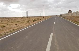 وزير الإسكان: الانتهاء من تنفيذ 82 كم طرق فرعية غرب مدينة مرسى مطروح| صور