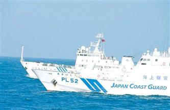 اليابان: سفينتان صينيتان دخلتا مياهنا الإقليمية