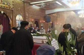 الأهالي يودعون غريق اللانش المنكوب بكنيسة أبي سيفين ببورسعيد| صور