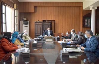 مكاتب فرعية للإدارة العامة للسلامة والصحة المهنية بجامعة بني سويف| صور