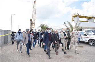 وزير الري ومحافظ بورسعيد يتفقدان محطة رفع بحر البقر بمدخل ترعة السلام| صور
