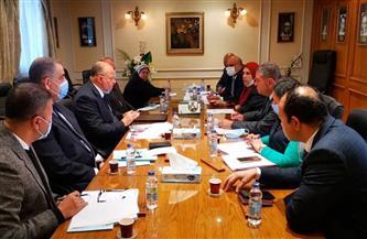 «قطاع الأعمال» و«القاهرة » تبحثان تسريع إجراءات تطوير فندقي شبرد والكونتيننتال