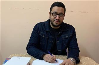 """محمد الأمير يتعاقد على تحويل روايته """"نبض الأحلام""""  إلى عمل سينمائي"""