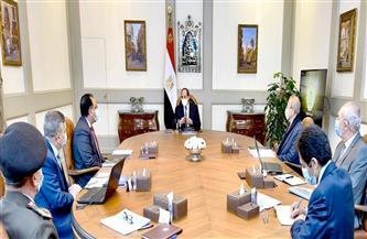 الرئيس السيسي يوجه ببلورة سياسات تسويقية مرنة لقناة السويس تتناسب مع الظروف الاقتصادية العالمية