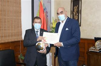اتحاد اليد يشكر شركة كهرباء جنوب القاهرة
