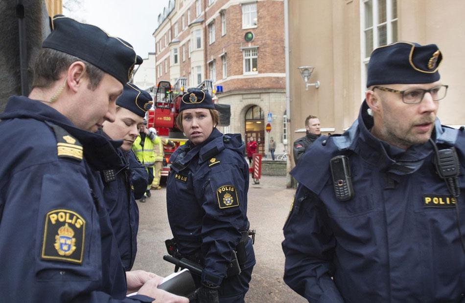 إصابة  شخصا في انفجار مبنى سكني في جوتنبرج السويدية