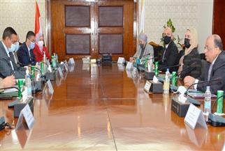 وزراء التنمية المحلية والري والزراعة والتضامن يناقشون جهود التخلص الآمن من نواتج تطهير الترع والمصارف بالبحيرة