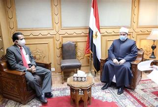 وكيل الأزهر يستقبل السفير الإندونيسي بالقاهرة لبحث التعاون المشترك | صور