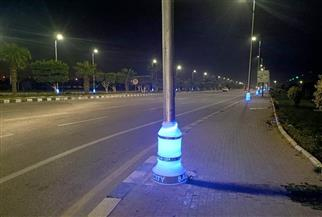 """رئيس جهاز مدينة بدر: تنفيذ أبراج كهرباء الـ""""هاي ماست"""" وتركيب قطع مضيئة بالميادين   صور"""