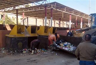 رفع ١٠٠ طن قمامة ومخلفات في حملات موسعة بالكفور القبلية بطنطا | صور