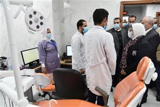 وزيرة الصحة تتفقد وحدة طب أسرة طيبة وتشيد بمستوى التجهيزات والخدمات المقدمة للمرضى | صور