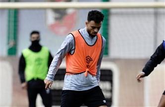 صلاح محسن ينتظم في تدريبات الأهلي بعد عودة الفريق من تنزانيا