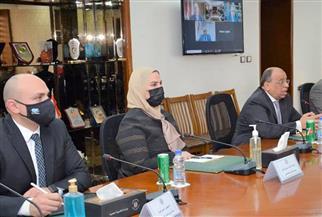 تفاصيل لقاء القباج بممثلي 23 جمعية أهلية لتطوير قرى الريف المصري | صور