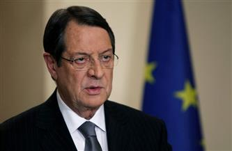 الرئيس القبرصي يبحث مع ماكرون القضية القبرصية واجتماع 5 + 1