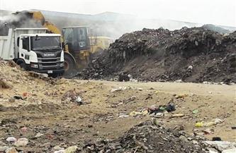 محافظ الشرقية: رفع 32 ألف طن قمامة ومخلفات من النقطة الوسيطة بمشتول السوق | صور