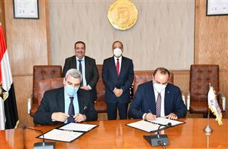 بروتوكول تعاون مشترك بين جامعة قناة السويس ووكالة الفضاء المصرية | صور