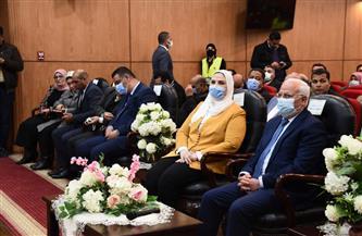 وزيرة التضامن ومحافظ بورسعيد يجتمعان بممثلي الجمعيات الأهلية | صور