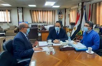 بحث الاستعداد لتنفيذ التدريبات العملية لطلاب كلية التربية بالمدارس الحكومية في بورسعيد| صور