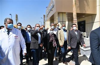 وزيرة الصحة: المرحلة الأولى لتطبيق التأمين الشامل بالأقصر تضم 4 مستشفيات و42 وحدة
