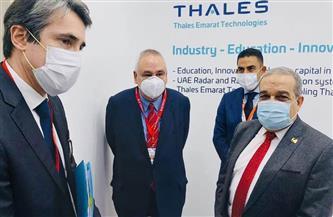 """وزير الإنتاج الحربي من """"ايدكس"""": التقينا أكثر من 5 شركات عالمية لبحث التعاون المشترك"""