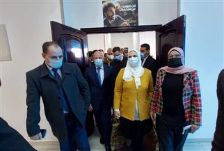 وزيرة التضامن ومحافظ بورسعيد يتفقدان مركز العزيمة للتأهيل ببورفؤاد | صور